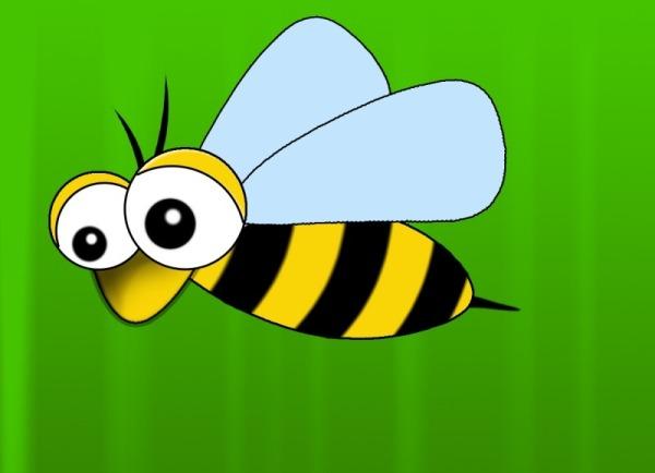 Как нарисовать пчелку