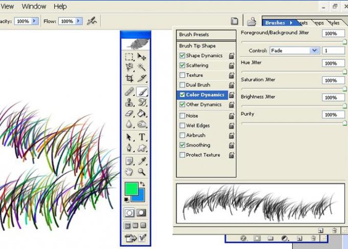 КАК сделать кисти цветными :: как черный орнамент сделать цветным в фотошопе :: Компьютеры и ПО :: Другое :: faqgurupro.ru: как