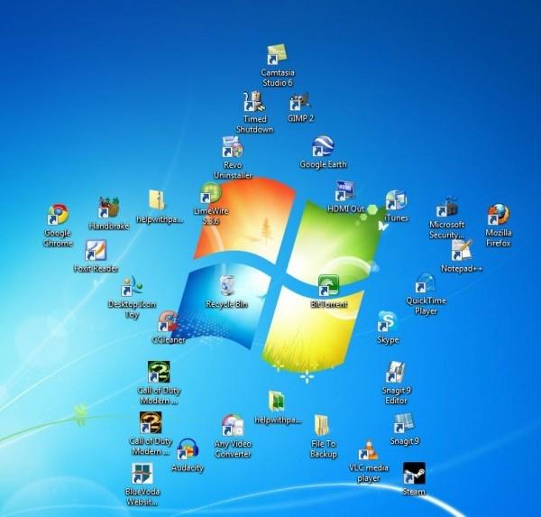 """Как восстановить """"Мой компьютер на рабочем столе"""""""