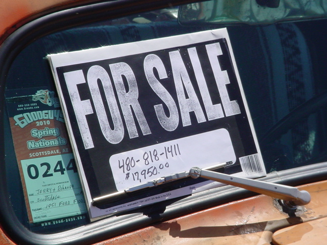 How to resell cars