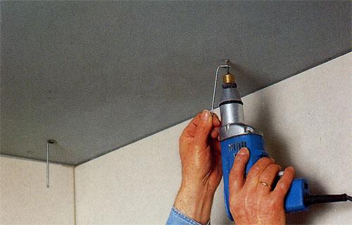 Как монтировать реечные <strong>потолки</strong>