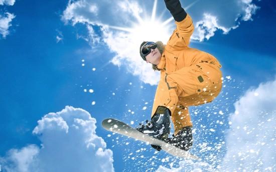 Как обучиться прыгать на сноуборде