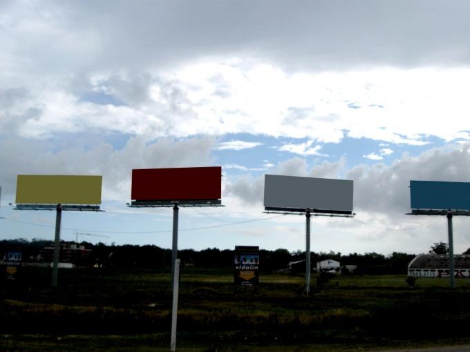 Билборд, радио, телевидение. Какую рекламу выбрать?