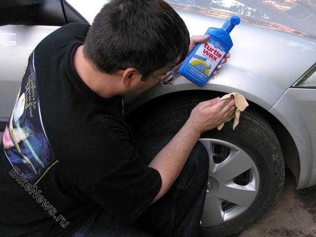 Как избавиться от царапин на <b>машине</b>