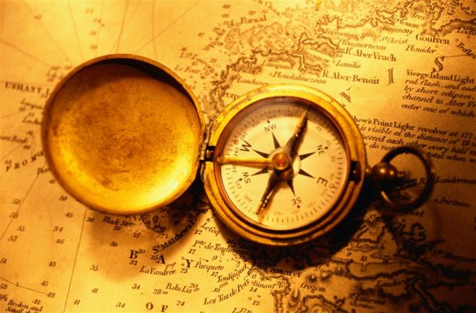 Как определить части света