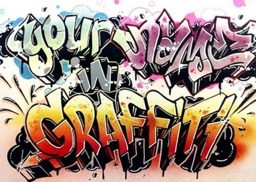 How to write <b><em>letters</em> graffiti</b>