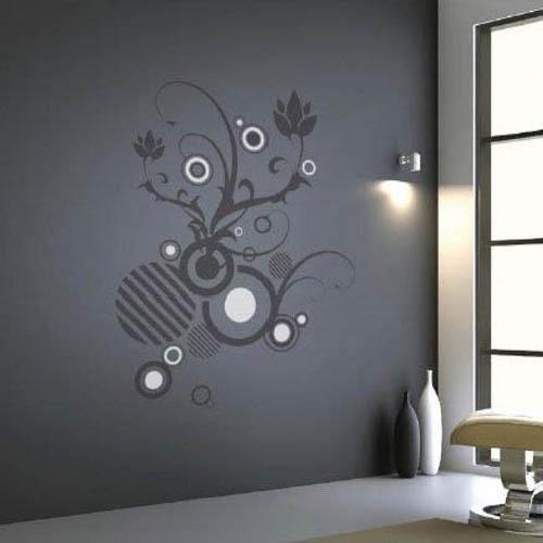 Как нанести рисунок на стену