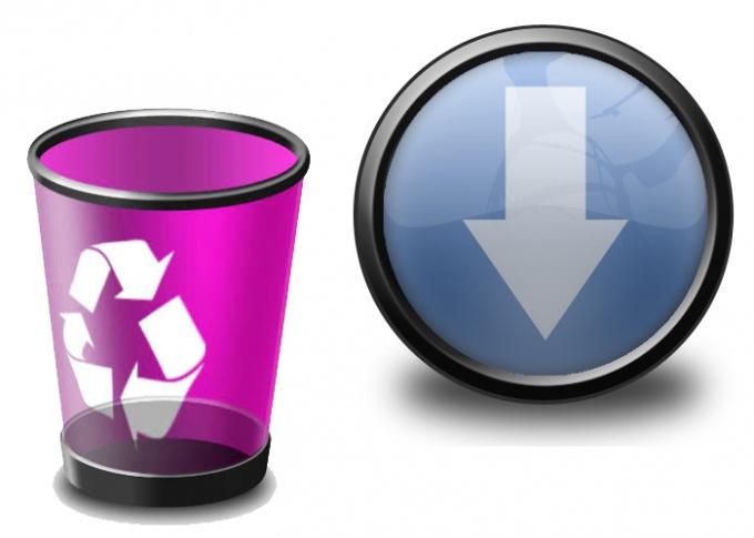 Как удалить скаченные файлы