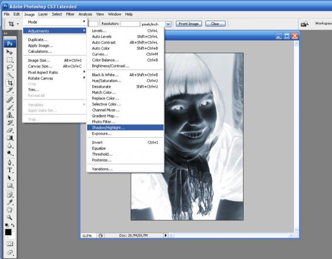 Как сделать фото серой в фотошопе