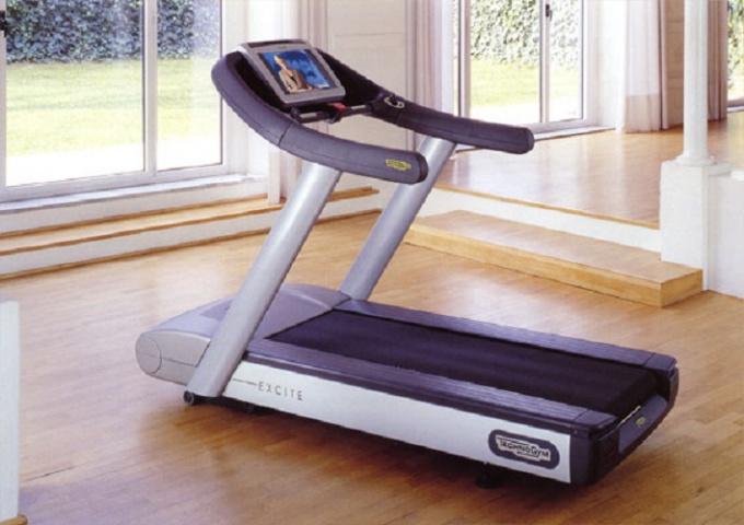 Treadmill in the apartment