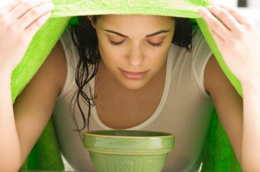 Как делать паровые ванночки