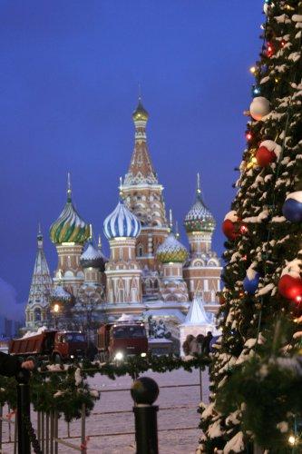 Как провести новогодние <b>праздники</b> в <strong>Москве</strong>
