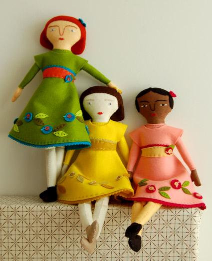 Как сшить тряпичную куклу
