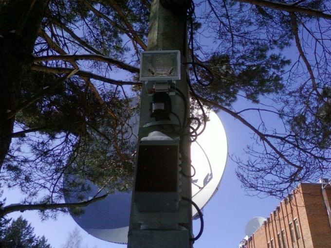 How to hide surveillance camera