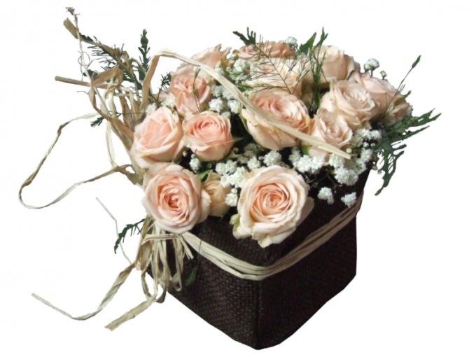 Упаковка для цветочного букета - как рама для картины