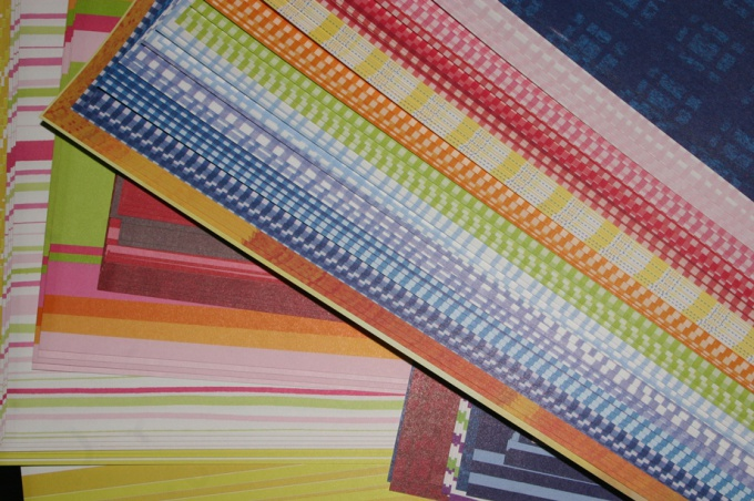 Paper for decoration