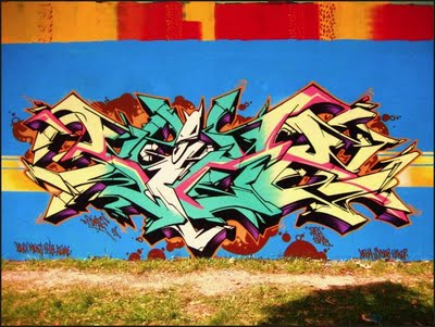 How to learn to draw graffiti wild style