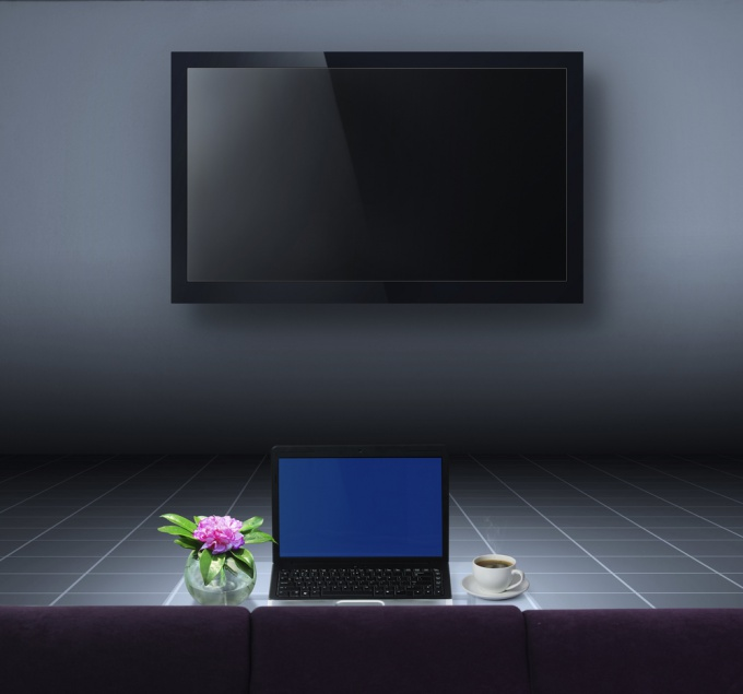 How to connect a laptop to the plasma
