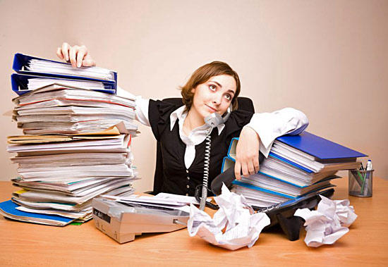Рассеянность мешает выполнять работу быстро и качественно.