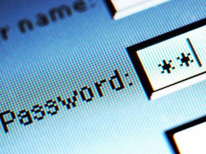 Как ввести новый пароль