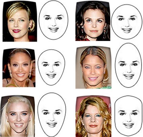 Выбирать стрижку предпочтительней по типу лица.