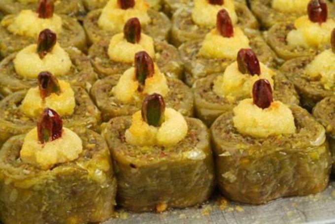 How to make honey baklava