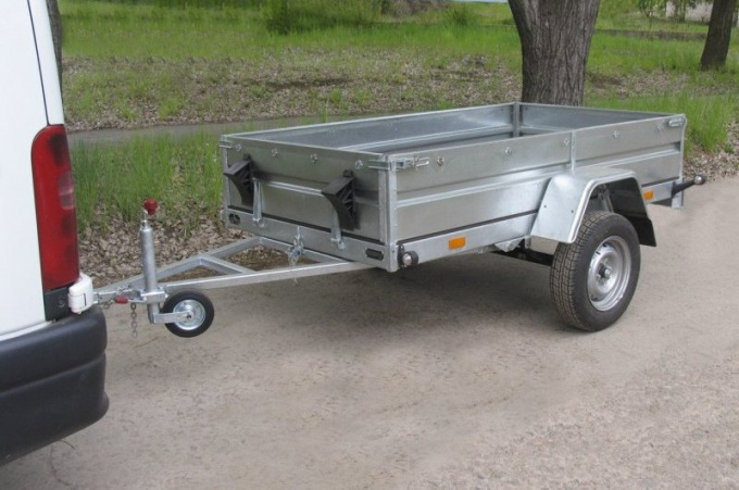 How to make a trailer with your own hands