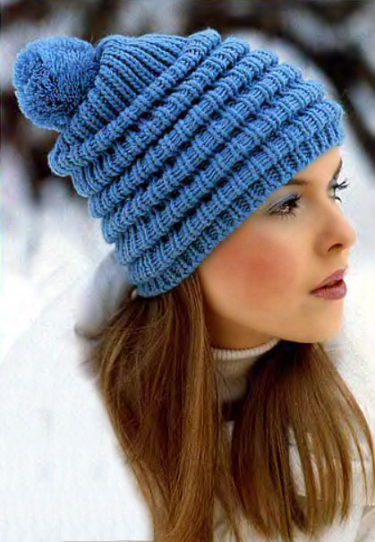 How to finish knitting hats