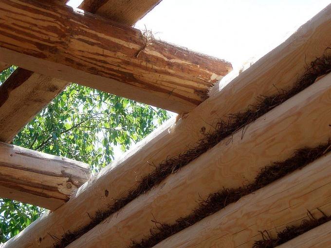 Как построить крышу в бане