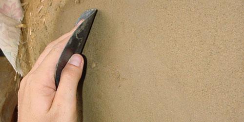 Как штукатурить <strong>цементом</strong>