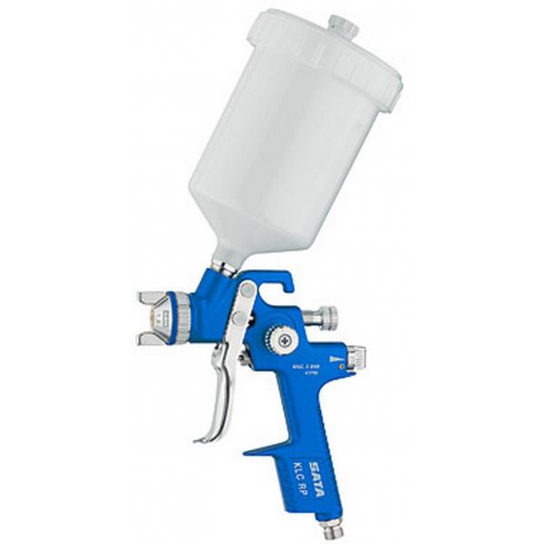 How to configure a spray gun