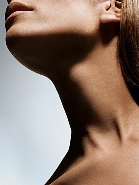 Как подтянуть шею