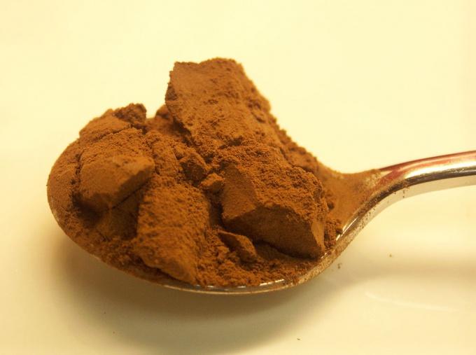 Какао-порошок должен быть однородным и иметь хороший аромат.