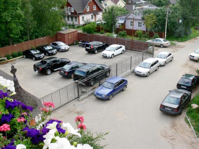 Как организовать парковку