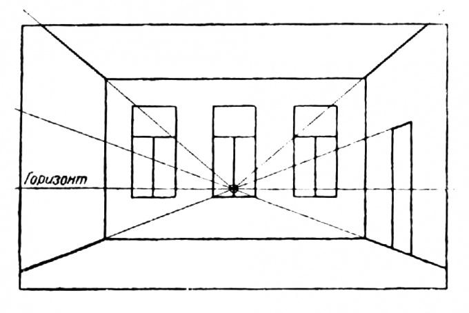 Как нарисовать <strong>интерьер</strong> <b>комнаты</b>