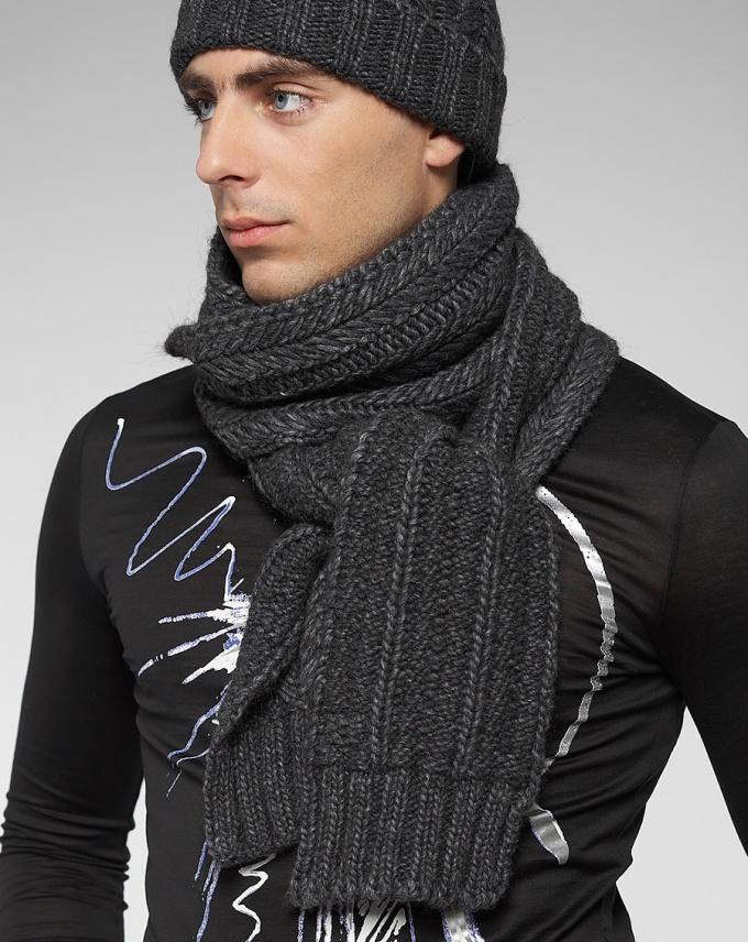 Как повязать шарф мужчине