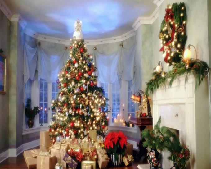 Как поздравить любимого с Рождеством