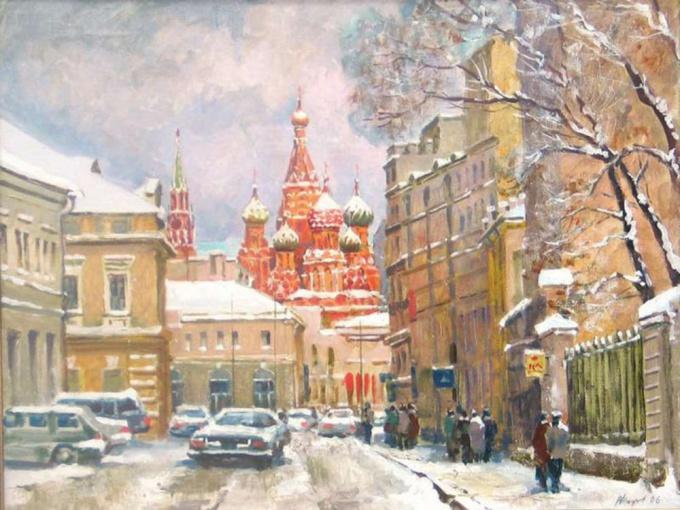 Как нарисовать <strong>Москву</strong>