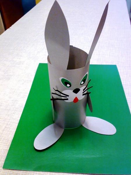 Как вырезать зайца из бумаги