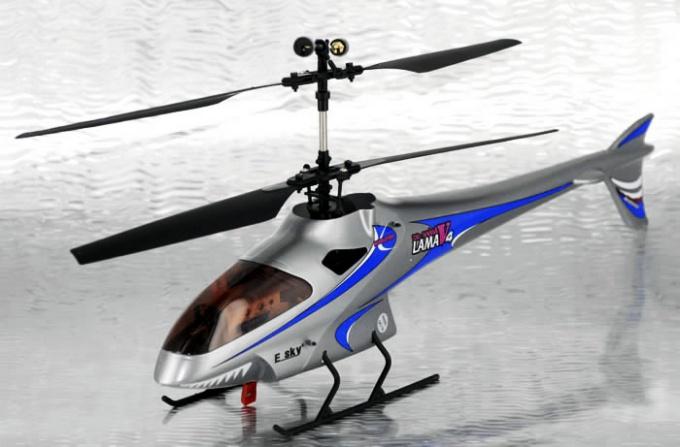 Как сделать маленький вертолет