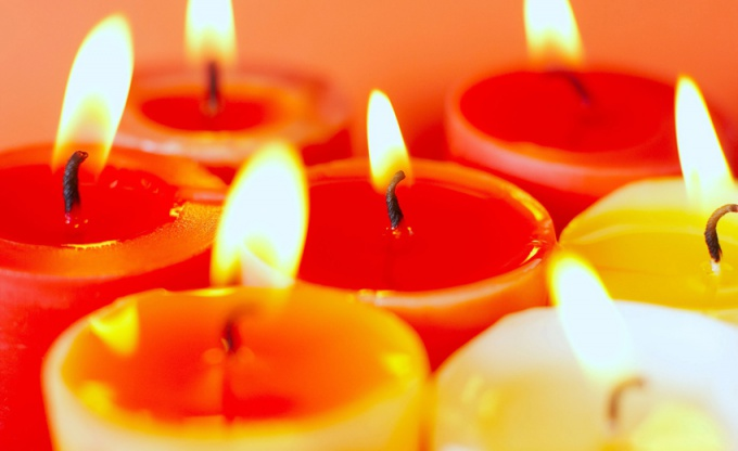 How to melt candle