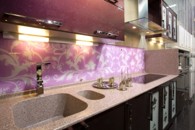 How to mount a wall panel for kitchen