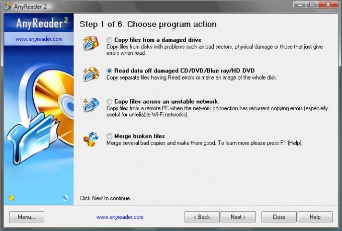 Как восстановить испорченный диск