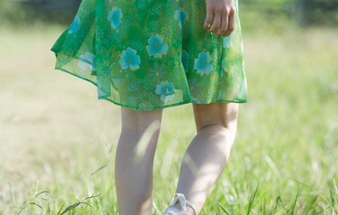 Как подшить юбку