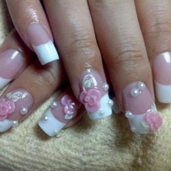 Как наращивать ногти акрилом на типсах