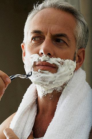 Как брить лицо