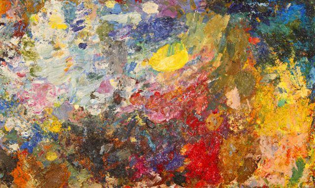 A riot of colors