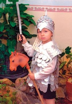 Как сделать шлем богатыря