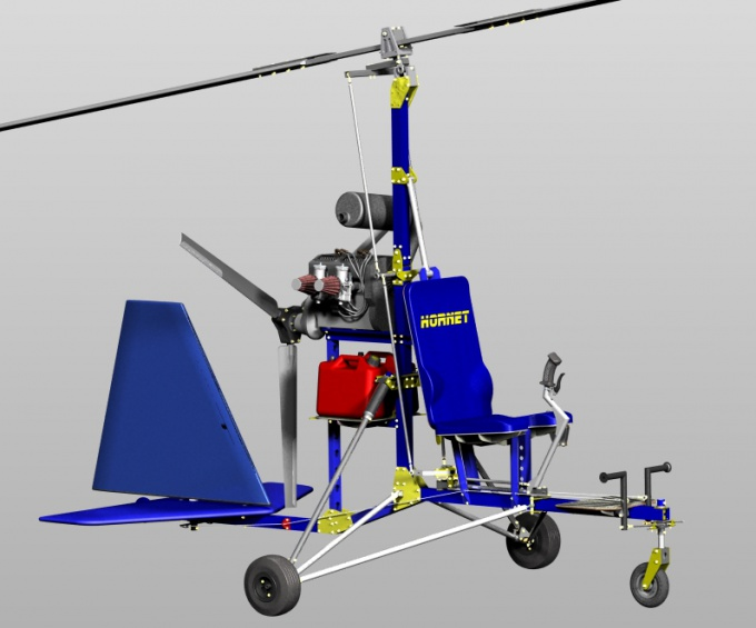 How to build a gyroplane