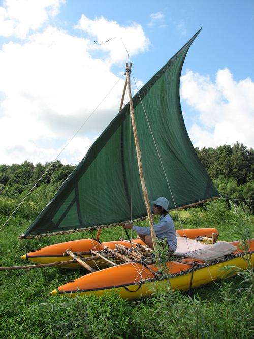 How to build a catamaran
